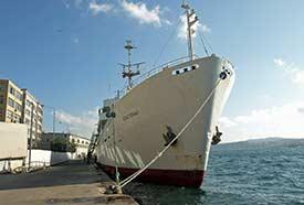 Sevastapol 1 at Karakoy Pier Istanbul