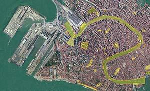 Venice Wi-Fi map