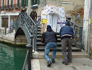 Venice delivery service