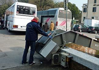Cooperativa Trasbagagli Venezia in Piazzale Roma
