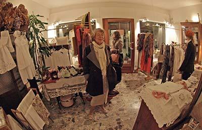 Annelie Pizzi e Ricame shop in Venice