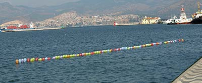 Izmir waterfront shooting gallery