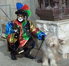 Maggie at Venice Carnival