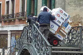 Venice deliveries