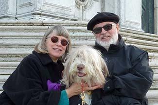 Maggie at Santa Maria della Salute