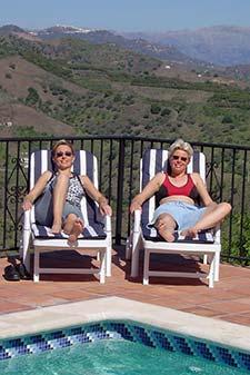 Sue and Cath at Bambu