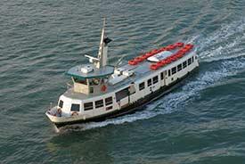 ACTV water bus in Venetian Lagoon