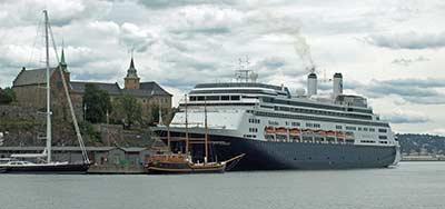 MS ROTTERDAM at Oslo Cruise Terminal