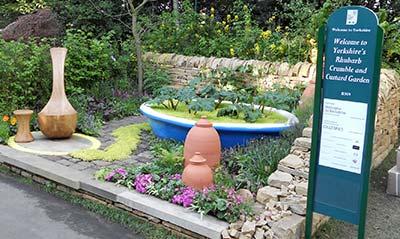 Yorkshire's Rhubarb and Custard Garden