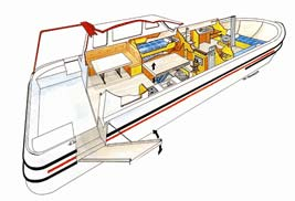 FPP Travel Handy boat diagram