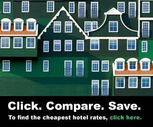 Hotel display ad sample