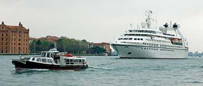 Seabourn Spirit in Venice