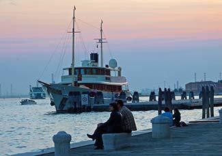 Johnny Depp's yacht Vajoliroja in Venice