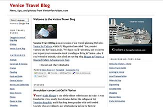 Venice Travel Blog