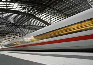 ICE train in Berlin