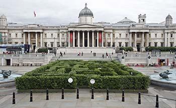 Trafalgar Square maze
