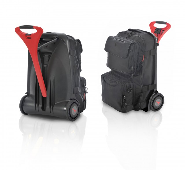 Live Luggage Hybrid AG powered suitcases