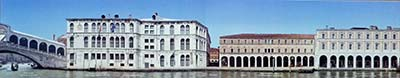 Gatefold from Daniele Resini's VENICE: The Grand Canal
