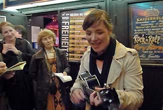 Stefanie Hempel at the Kaiserkeller