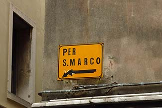 1Venice Per San Marco sign