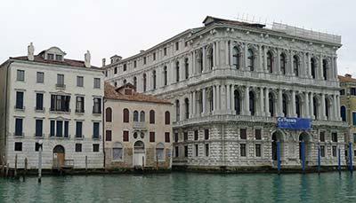 Johnny Depp's palazzo in Venice