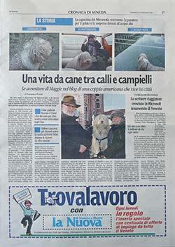 LA NUOVA - Venice newspaper story