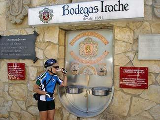 ExperiencePlus! bicycle traveler in Spain