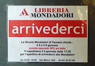 Libreria Mondadori Venice