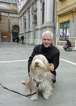 Maggie at the Scuola Grande dei Carmini