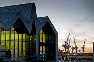 Riverside Museum on River Clyde