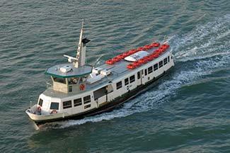 ACTV Linea LN boat in Venetian Lagoon