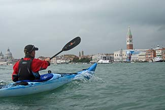 Venice Kayak in St. Mark's Basin
