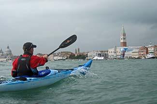 Venice Kayak in St. Mark's Basin