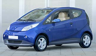 Autolib' electric car