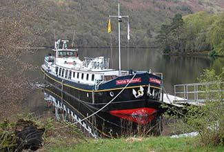 Scottish Highlander barge