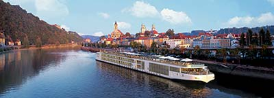 Viking River Cruises Longship on the Rhine
