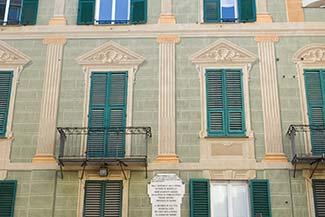 Savona building facade