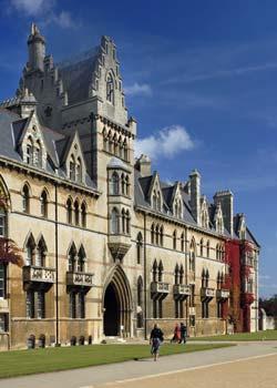 Oxford Christ Church College - South Facade50