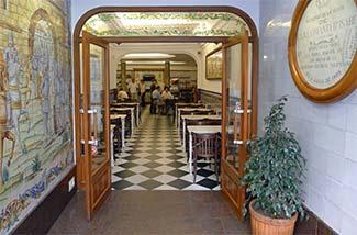 Horchateria Chocolateria Santa Catalina entrance