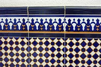 Ceramic tiles in Valencia
