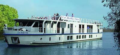 La Bella Vita - barge in Venice