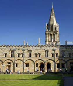 Oxford Christ Church College - Great Tom Quad