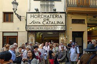 Horchateria de Santa Catalina Valencia