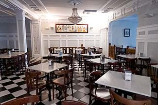 Horchateria de Santa Catalina upstairs dining room
