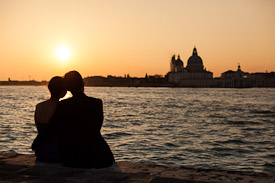 Luca Fazzolari - couple in Venice