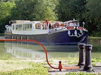 European Waterways hotel barge PANACHE