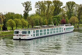 Scenic Cruises Space-Ship on the Rhine