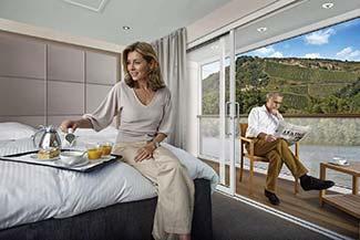 Scenic Cruises balcony