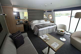 Scenic Cruises royal suite