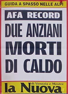 Venice heat wave headline